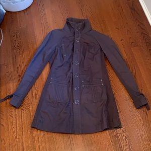 Gray Cotton Coat - Free People